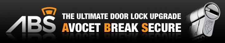ABS Avocet high security cylinder door locks